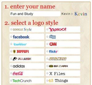 funny logoでオリジナルロゴ作成